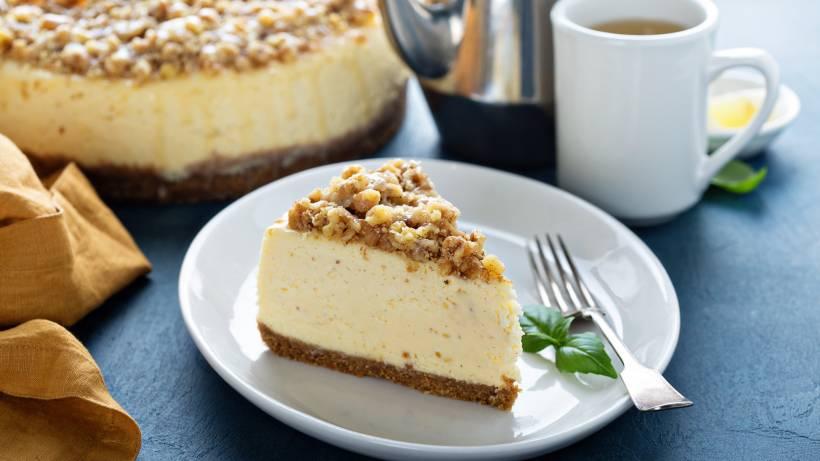 Aprende a elaborar una Cheesecake de Nueces